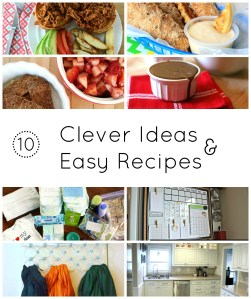 clever ideas and easy recipes