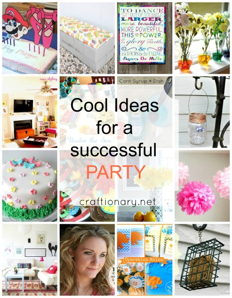cool ideas for successful party