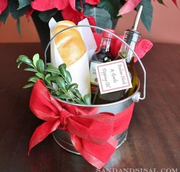 handmade gift herb gift bag