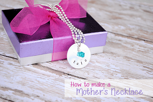 how to hand stamp jewelry handmade stamped pendant