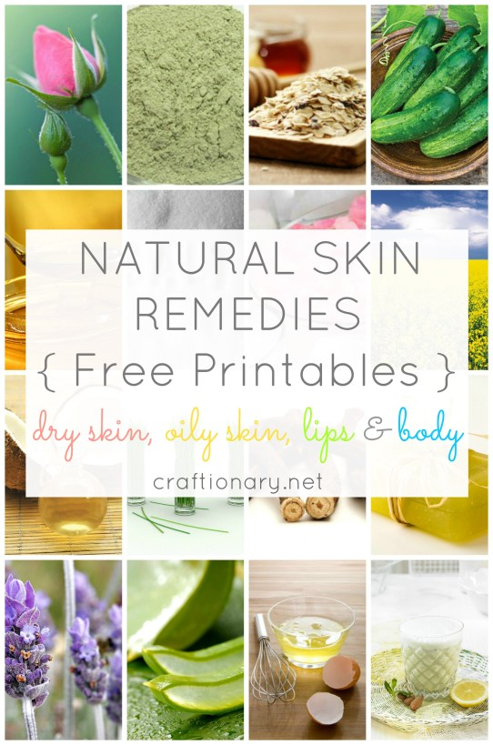 natural skin remedies herbal remedies