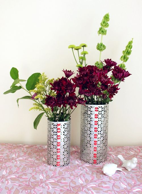 aluminium sheets vases