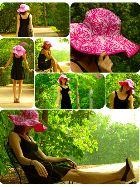 DIY floppy hat