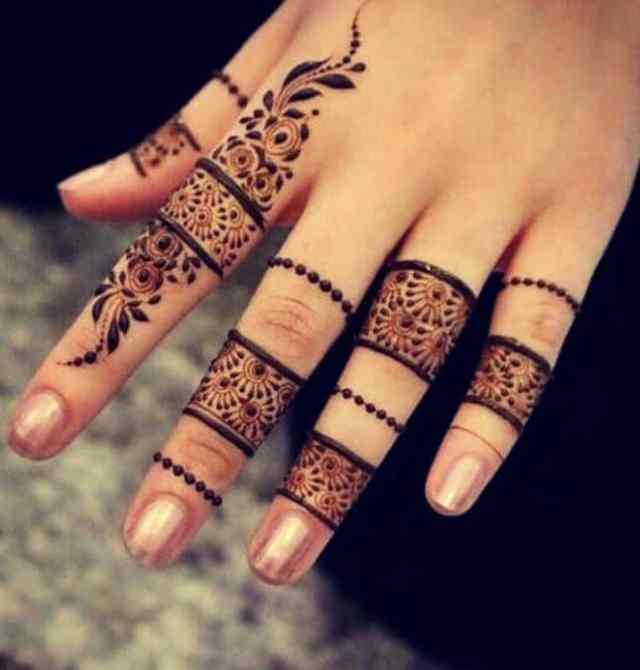 fingures-mehndi-designs