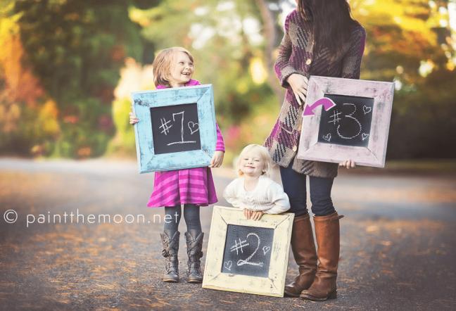 pregnancy announcement idea
