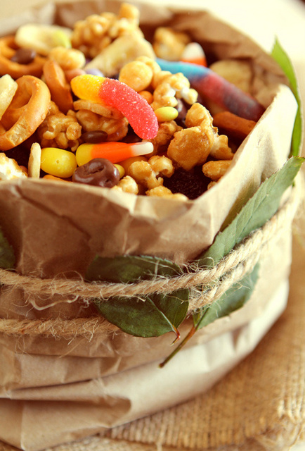 Halloween trash gluten free recipe