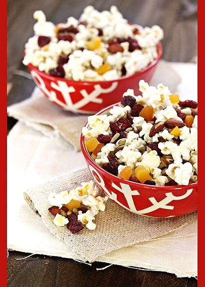 popcorn homemade trail mix
