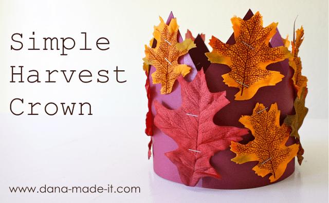 simple harvest crown