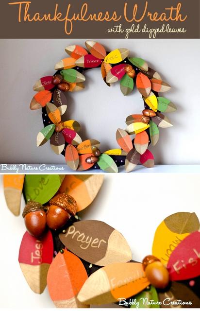 thankful wreath tutorial