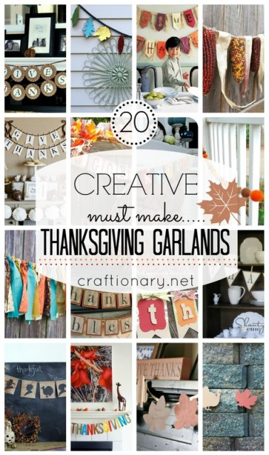 thanksgiving garlands