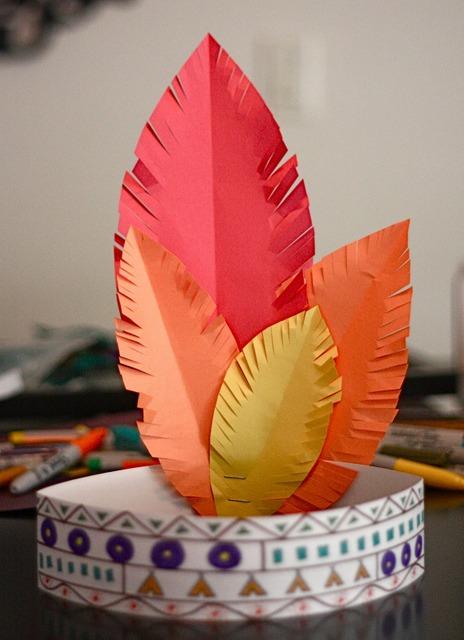 thanksgiving kids paper hat