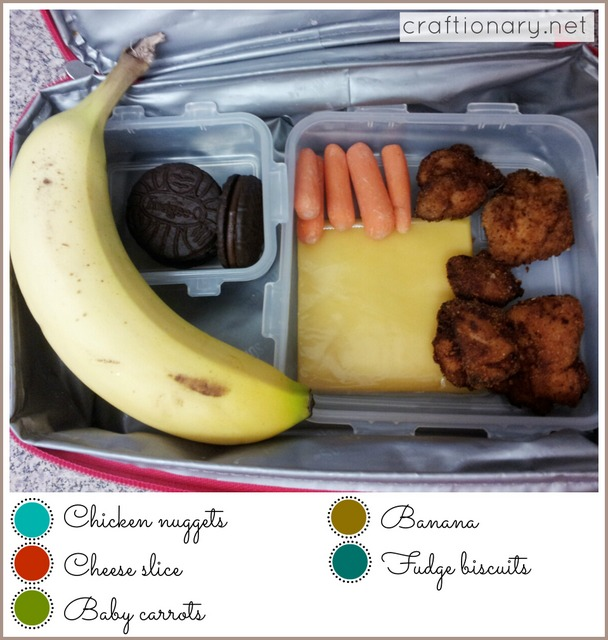 kindergarten lunch ideas