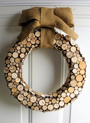 wood wreath
