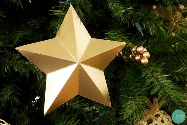 DIY star ornament