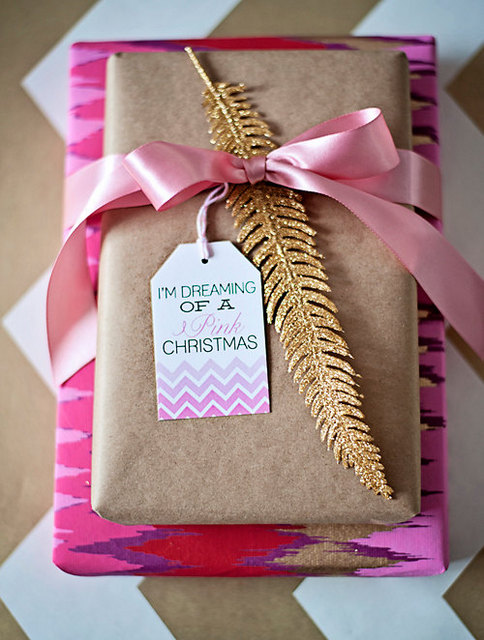 dreamy christmas gift wrapping