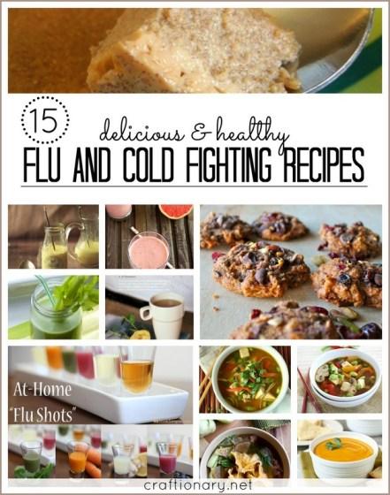 flu cold fighting recipes