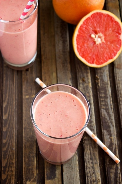 flu cure grapefruit smoothie