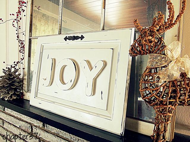 joy DIY sign board