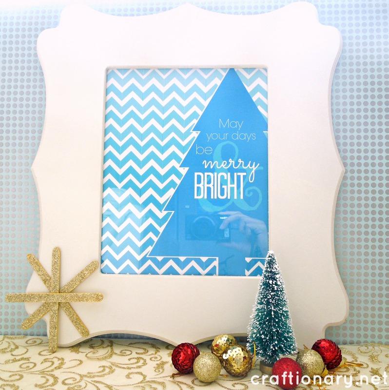 Christmas Decoration Printouts