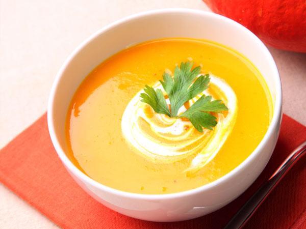peanut butter pumpkin soup