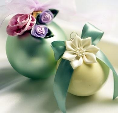 ribbon flowers ornaments