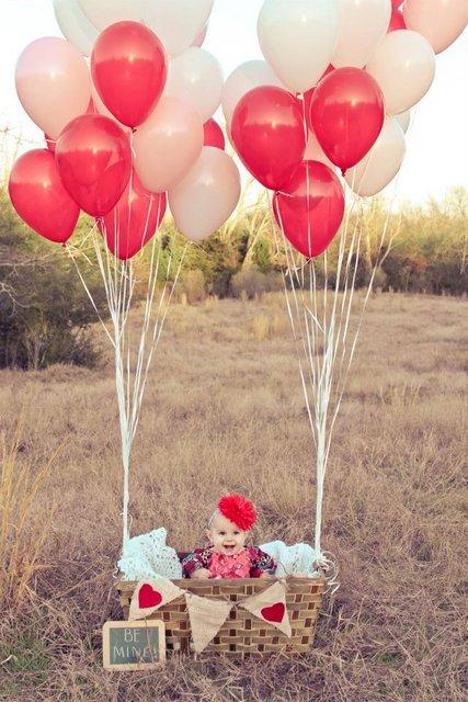 balloons parachute photography