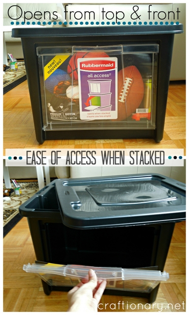 Rubbermaid all access home depot