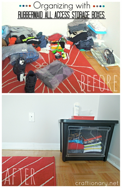 Rubbermaid all access organization