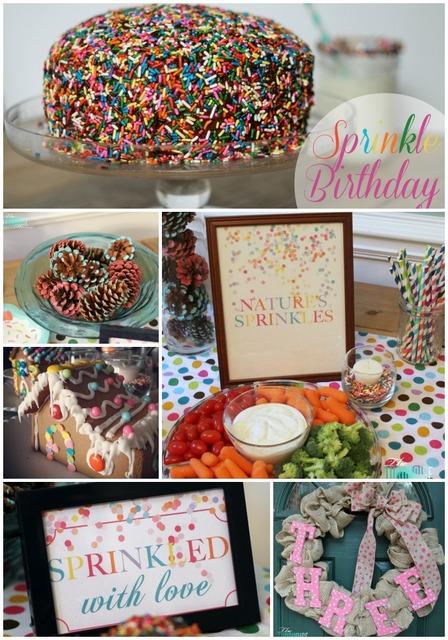 sprinkle birthday party