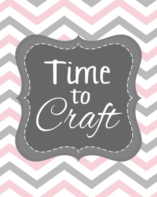 time to crafts