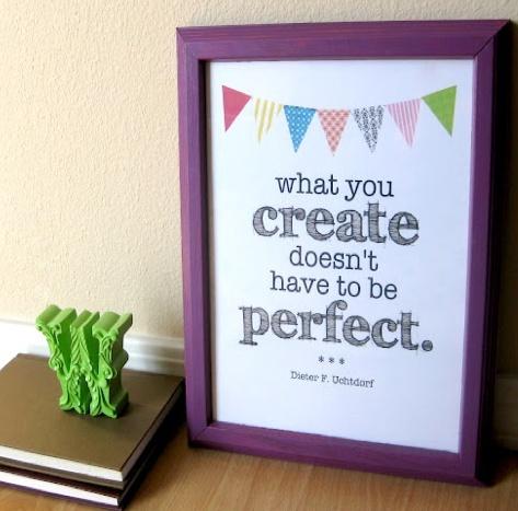 create perfect craft printable