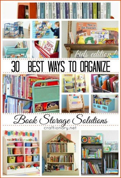 30 best book storage solutions
