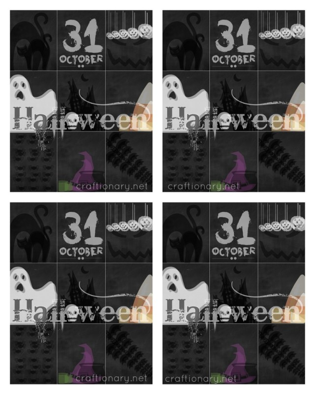 FREE halloween printable greeting cards craftionary