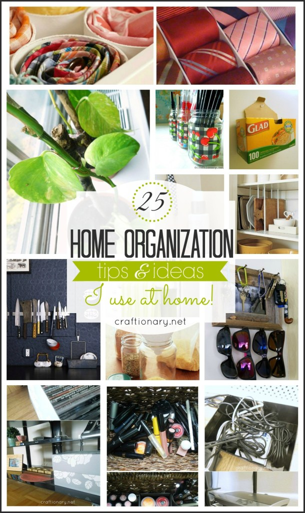 home organization tips ideas