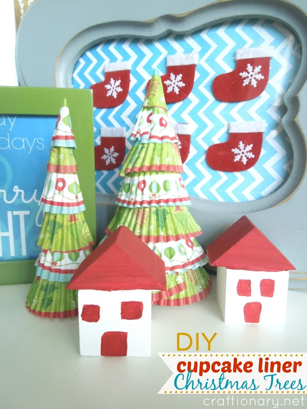 Cute Christmas trees - craftionary.net