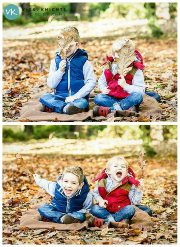 Fall leaf photo prop kids photo