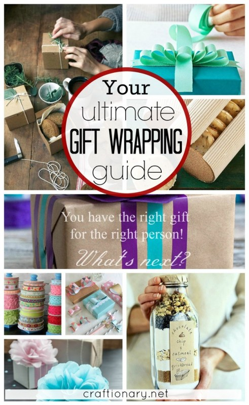 Ultimate Gift wrapping guide at craftionary.net