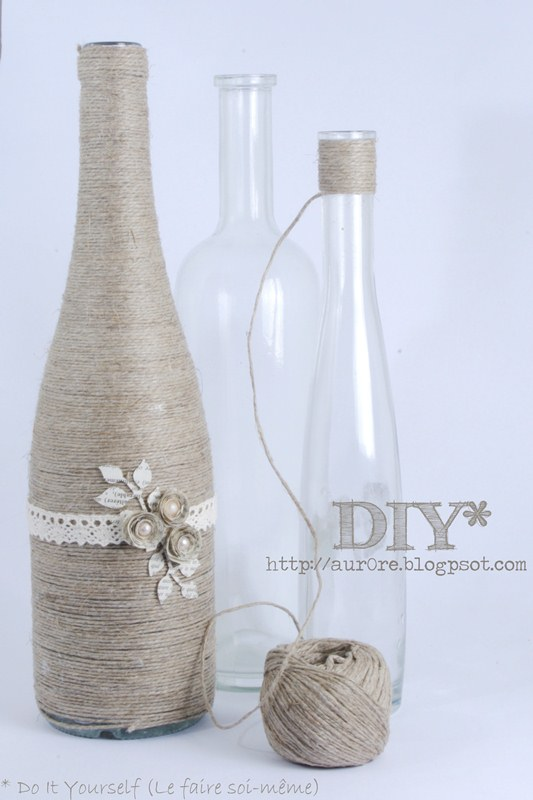 rope recycle bottle