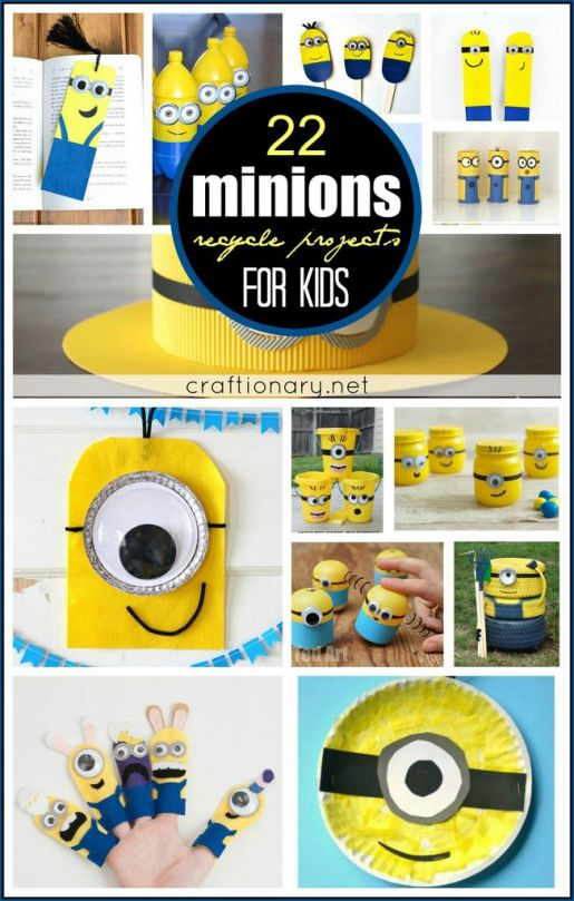 Minions recycle projects