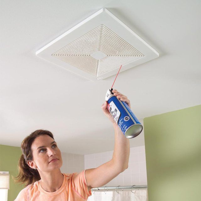 clean bathroom exhaust fan