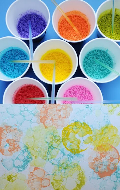 DIY-bubble-art