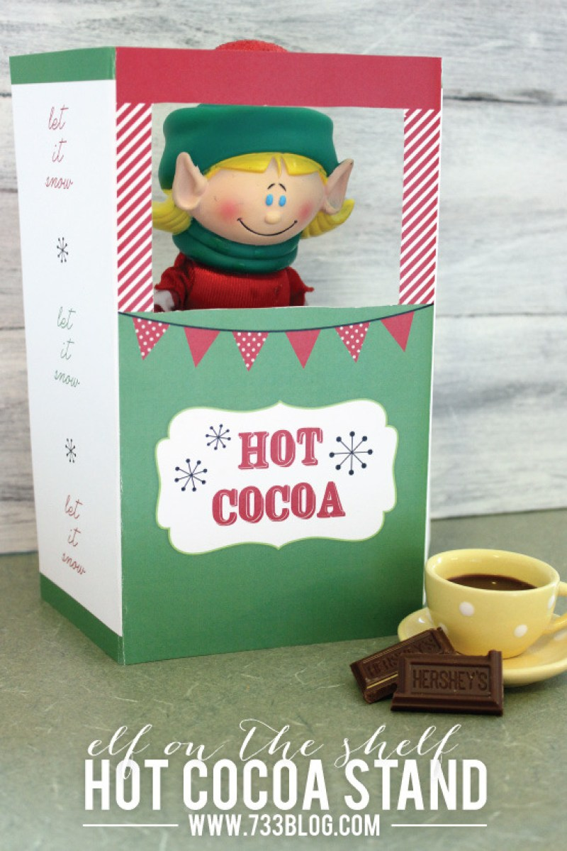 elf opens a cocoa stand