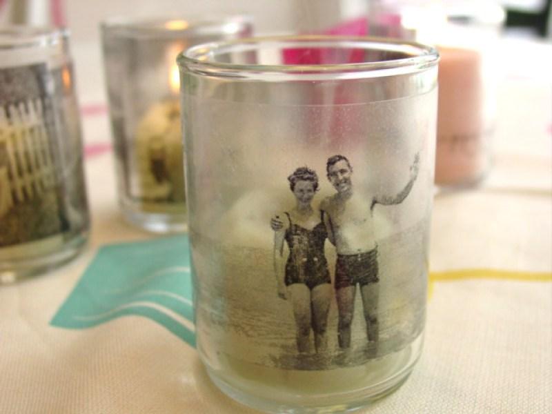 Customized Candle Holder