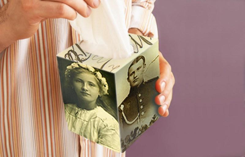 Photo Tissue Box