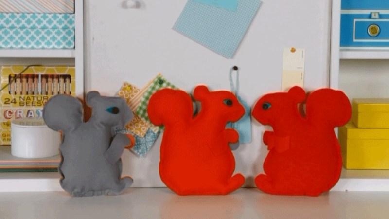 sew-felt-squirrel-craft