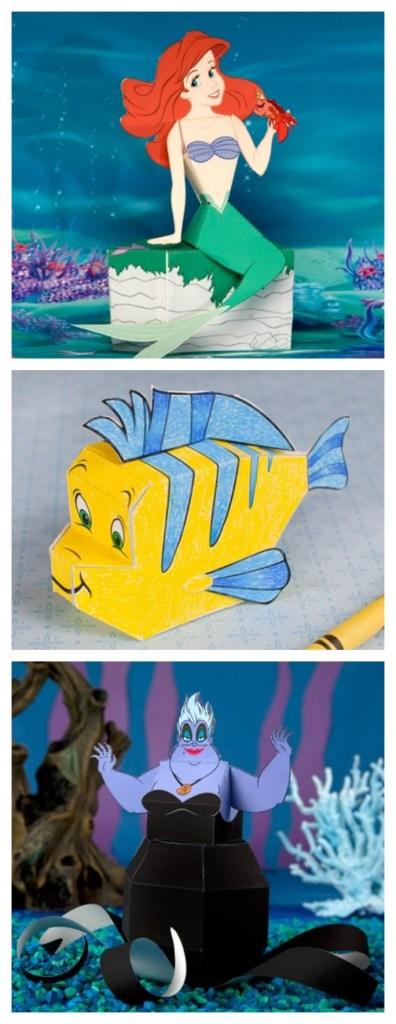 Disney little mermaid printables