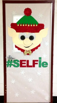 santa door decoration | just b.CAUSE