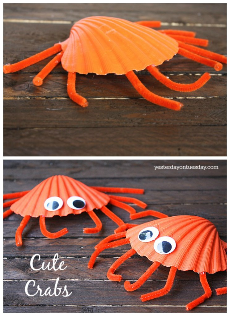 sea animal crab craft