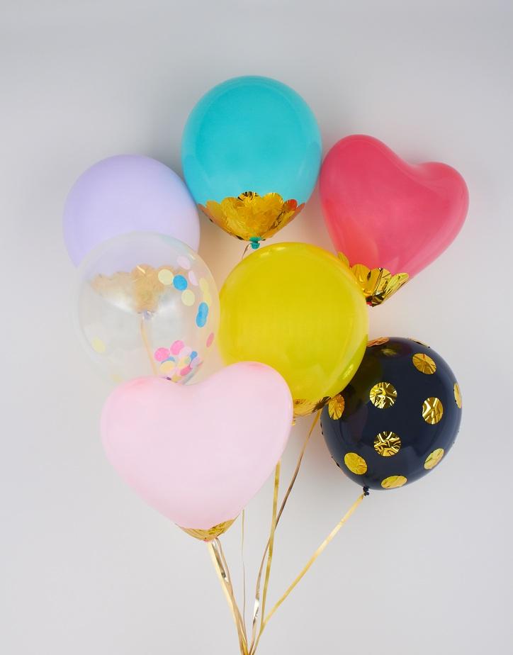 confetti balloons diy