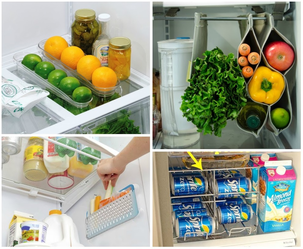 clever storage accessories for fridge